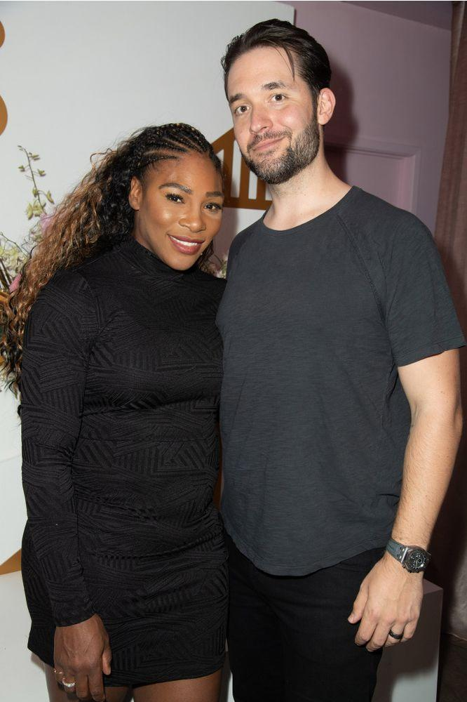 Serena Williams and Alexis Ohanian | Earl Gibson III/Getty Images