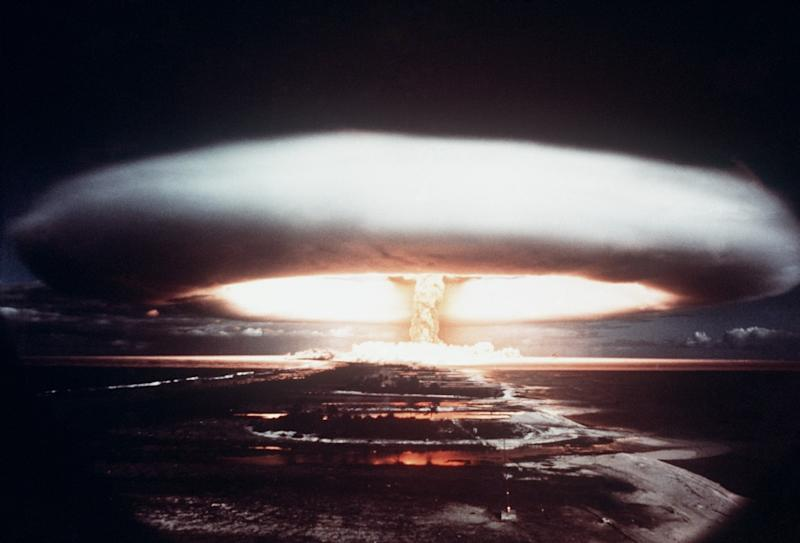 Russia says it will never launch a preemptive nuclear strike