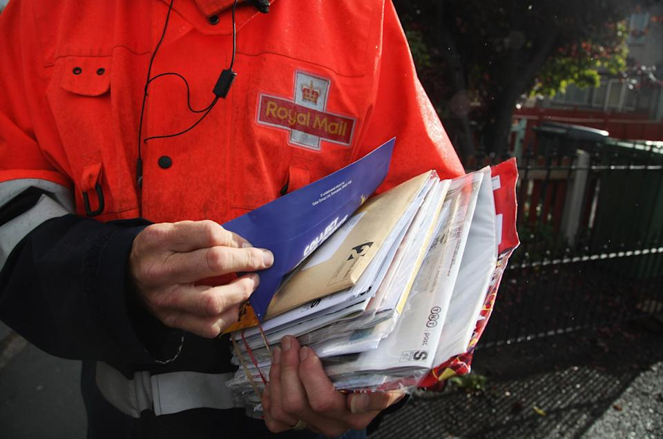 Check the Royal Mail website for further updates about possible strike action (Matt Cardy/Getty Images)Getty