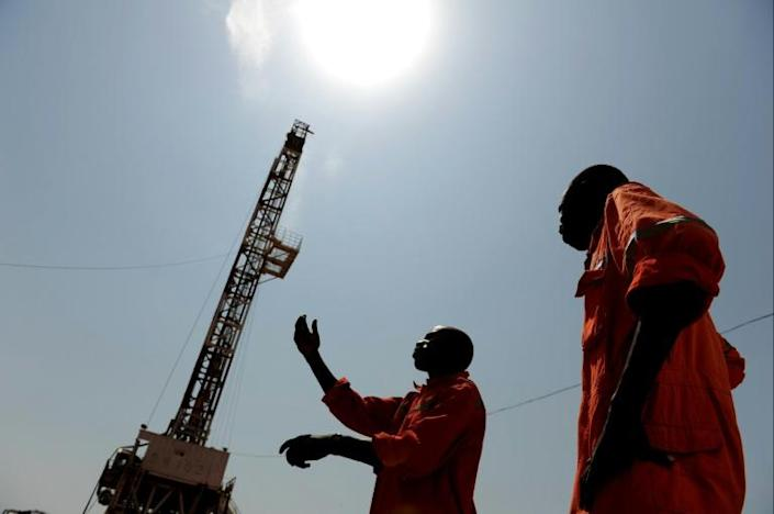 South Sudan's income is almost entirely dependent on oil (AFP/ROBERTO SCHMIDT)