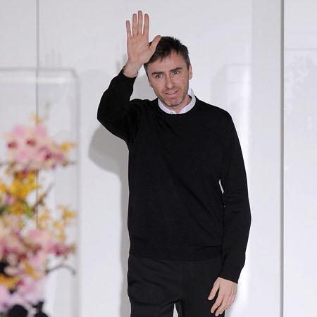 Raf Simons honoured to helm Dior