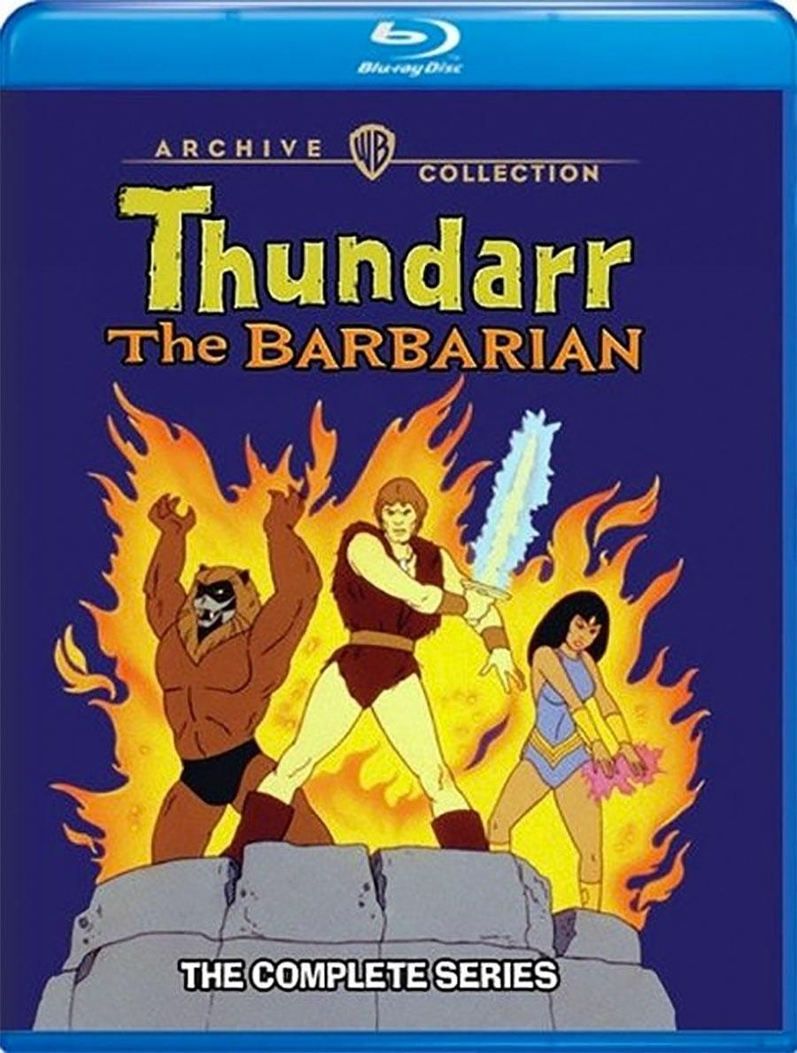 The Blu-ray release of Thundarr the Barbarian