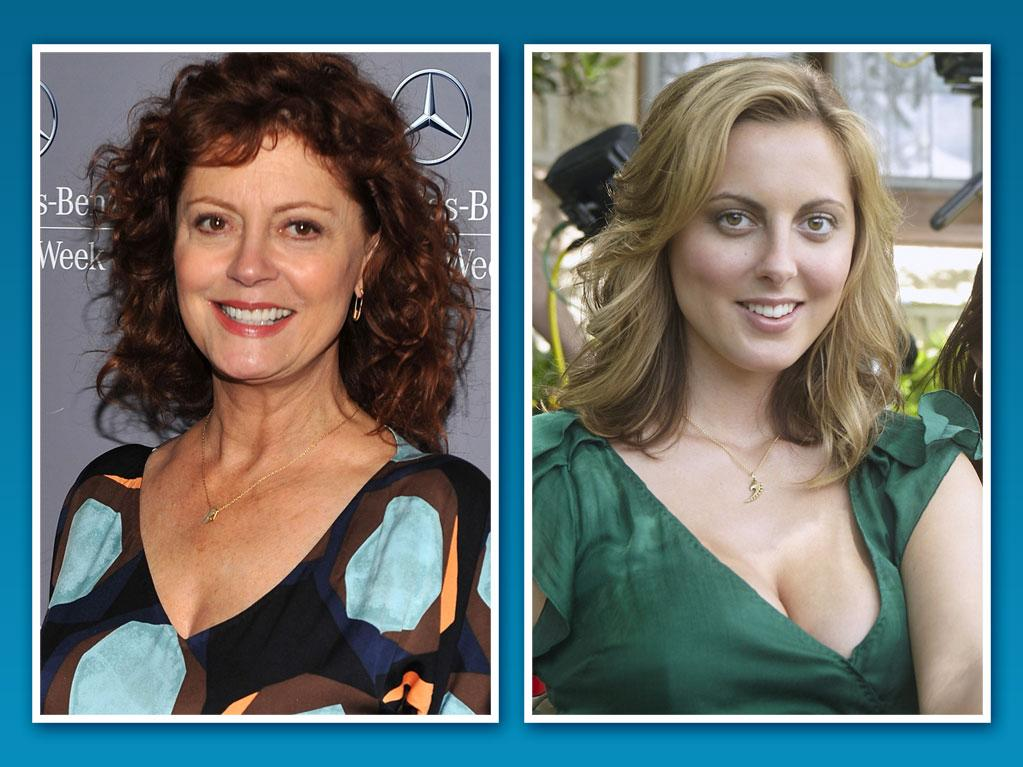 """<strong>Eva Amurri</strong><br><br> <strong>Famous Family:</strong> Susan Sarandon, mother<br><br> <strong>Breaking Out on TV:</strong> 26-year-old Eva Amurri has been popping up all over the TV dial lately, with guest spots on """"<a href=""""http://tv.yahoo.com/new-girl/show/47384"""">New Girl</a>,"""" """"<a href=""""http://tv.yahoo.com/house/show/36106"""">House</a>,"""" and """"<a href=""""http://tv.yahoo.com/how-i-met-your-mother/show/38167"""">How I Met Your Mother</a>."""" But she proved she's not Susan's little girl anymore by baring it all as college student/stripper Jackie on Showtime's """"<a href=""""http://tv.yahoo.com/californication/show/40387"""">Californication</a>"""" last season."""