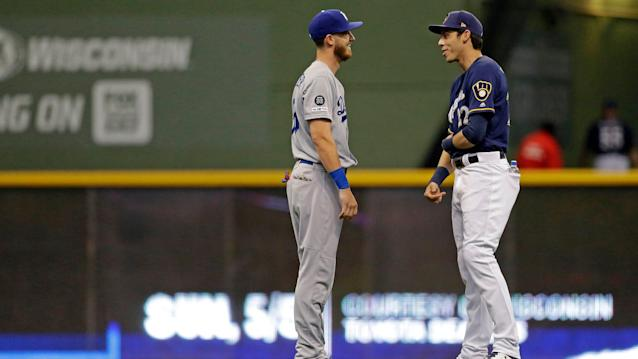 Christian Yelich and Cody Bellinger are friendly competitors as they jockey to be NL MVP