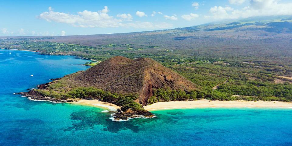 """<p>Hawaii's <a href=""""https://www.tripadvisor.com/Attraction_Review-g609129-d153834-Reviews-Makena_Beach-Wailea_Maui_Hawaii.html"""" rel=""""nofollow noopener"""" target=""""_blank"""" data-ylk=""""slk:Makena Beach"""" class=""""link rapid-noclick-resp"""">Makena Beach</a>, also known as Big Beach, is just that — a wide, mile-long stretch of golden sand, between two black lava outcroppings on Maui's southwestern shore. Spend the day snorkeling, taking a stroll, or just catching some rays. </p><p><a class=""""link rapid-noclick-resp"""" href=""""https://go.redirectingat.com?id=74968X1596630&url=https%3A%2F%2Fwww.tripadvisor.com%2FHotel_Review-g609129-d4459053-Reviews-Andaz_Maui_At_Wailea_Resort-Wailea_Maui_Hawaii.html&sref=https%3A%2F%2Fwww.redbookmag.com%2Flife%2Fg34756735%2Fbest-beaches-for-vacations%2F"""" rel=""""nofollow noopener"""" target=""""_blank"""" data-ylk=""""slk:BOOK NOW"""">BOOK NOW</a> Andaz Maui <br></p>"""