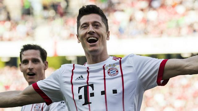 The Poland international striker has been a long-term target for the Spanish club, but the German giants remain determined to keep him