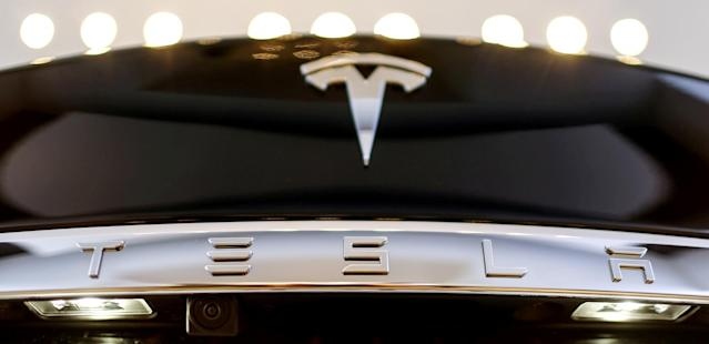 <p>Tesla<br> Industry: Motor Vehicles and Parts<br> Fortune 500 Rank: 383<br> Revenues: $7,000,000,000<br> (Reuters) </p>