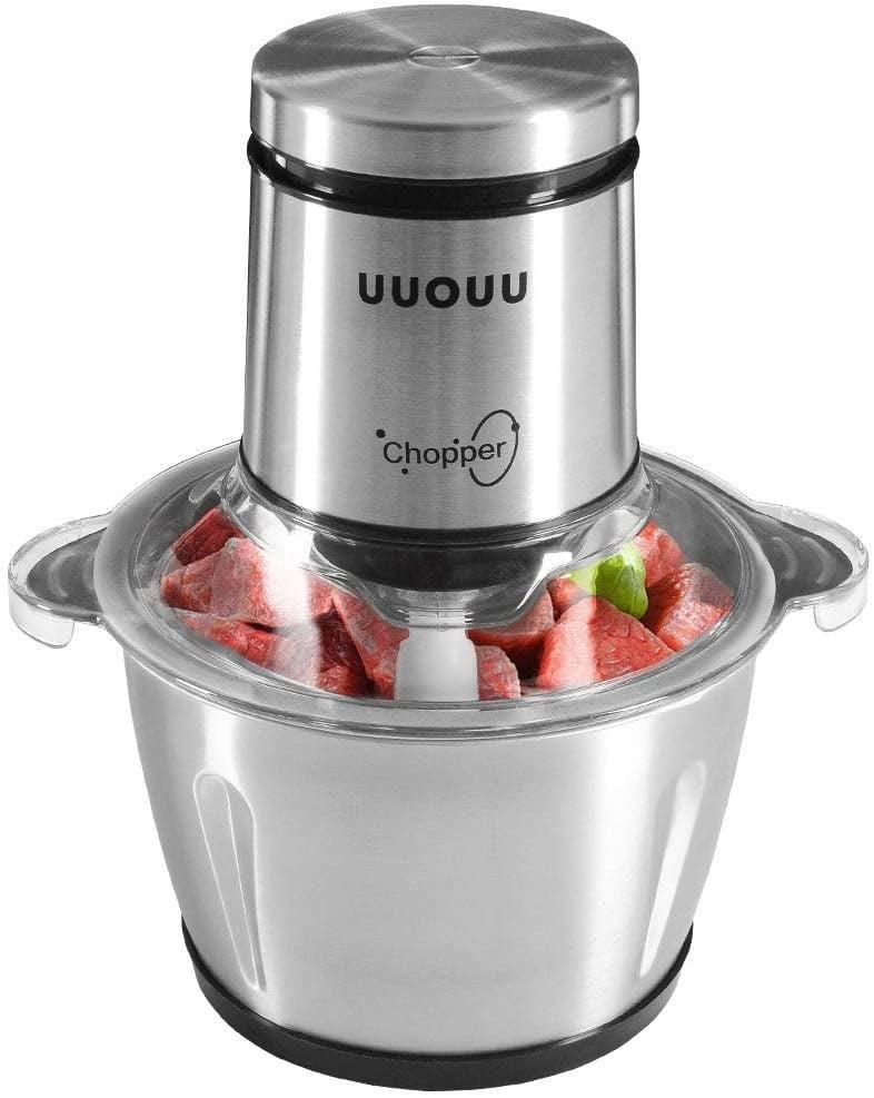 <p>In need of a little cooking assistant? Snag this <span>Electric Food Chopper with Stainless Steel Bowl</span> ($36).</p>