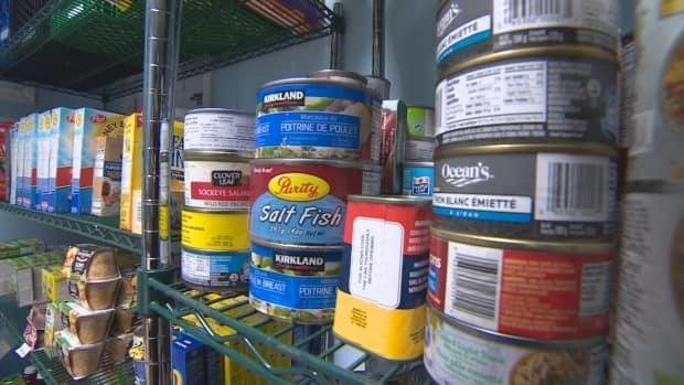The Upper Room food bank is looking to fill the shelves again. (CBC - image credit)