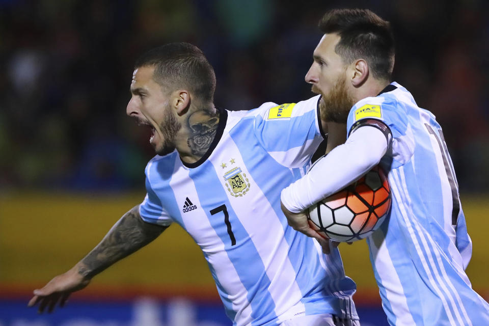 Lionel Messi's greatness led Argentina to the World Cup. (Getty)