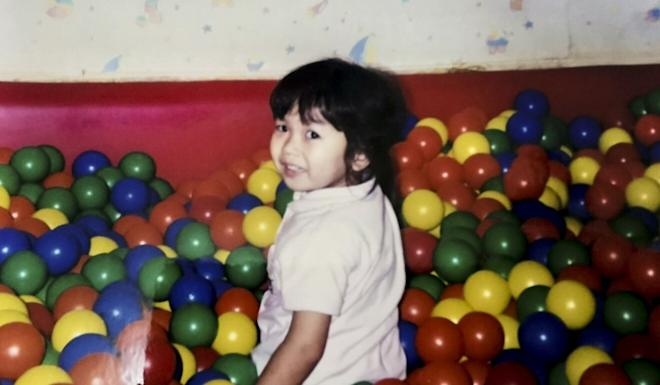 Poon Hiu-wing as a child. Photo: Handout