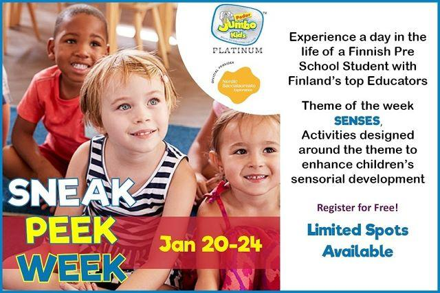 Jumbo Kids Sneak Peek Week