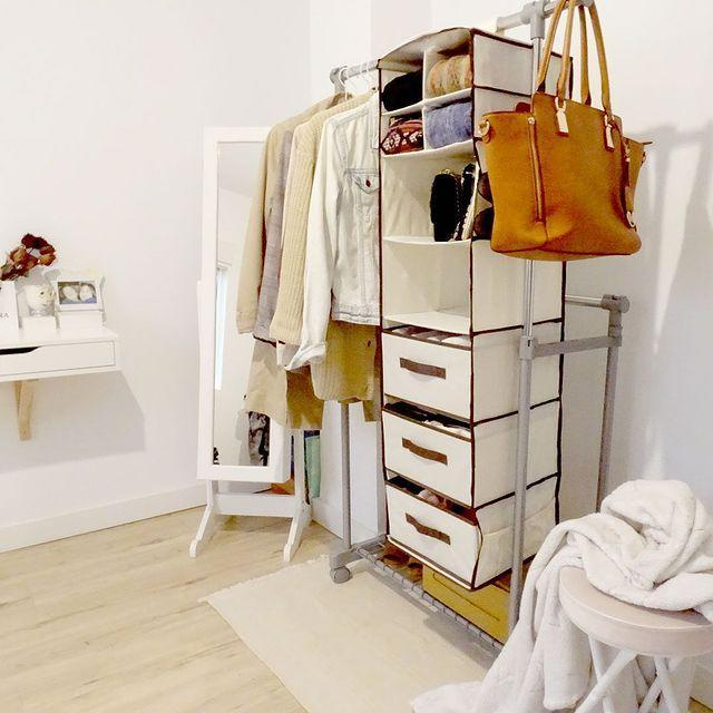 """<p>Who really has time for hangers? To prevent an instant floordrobe, buy some hanging drawers instead so there's loads of room for folded clothes, without a bulky chest of drawers.</p><p><a class=""""link rapid-noclick-resp"""" href=""""https://go.redirectingat.com?id=127X1599956&url=https%3A%2F%2Fwww.johnlewis.com%2Fanyday-john-lewis-partners-6-hanging-shelves%2Fp4317209&sref=https%3A%2F%2Fwww.cosmopolitan.com%2Fuk%2Finteriors%2Fg3725%2Fclever-storage-solutions%2F"""" rel=""""nofollow noopener"""" target=""""_blank"""" data-ylk=""""slk:SHOP NOW"""">SHOP NOW</a></p><p><a href=""""https://www.instagram.com/p/B61yalLFeZ9/"""" rel=""""nofollow noopener"""" target=""""_blank"""" data-ylk=""""slk:See the original post on Instagram"""" class=""""link rapid-noclick-resp"""">See the original post on Instagram</a></p>"""