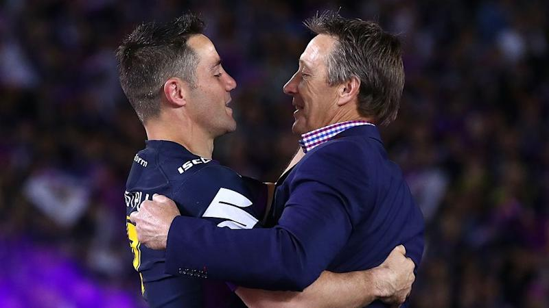 Cronk called Bellamy the biggest influence on his career. Pic: Getty