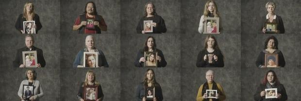 The public service announcement video features 14 families who have lost loved ones as a result of a wrongful act, from car accidents to hospital negligence.