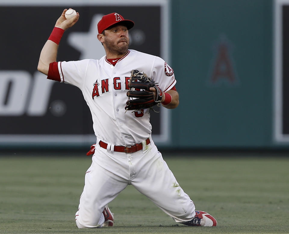 Red Sox acquire Ian Kinsler in trade with Angels to help fill the void left by injured second baseman Dustin Pedroia. (AP)