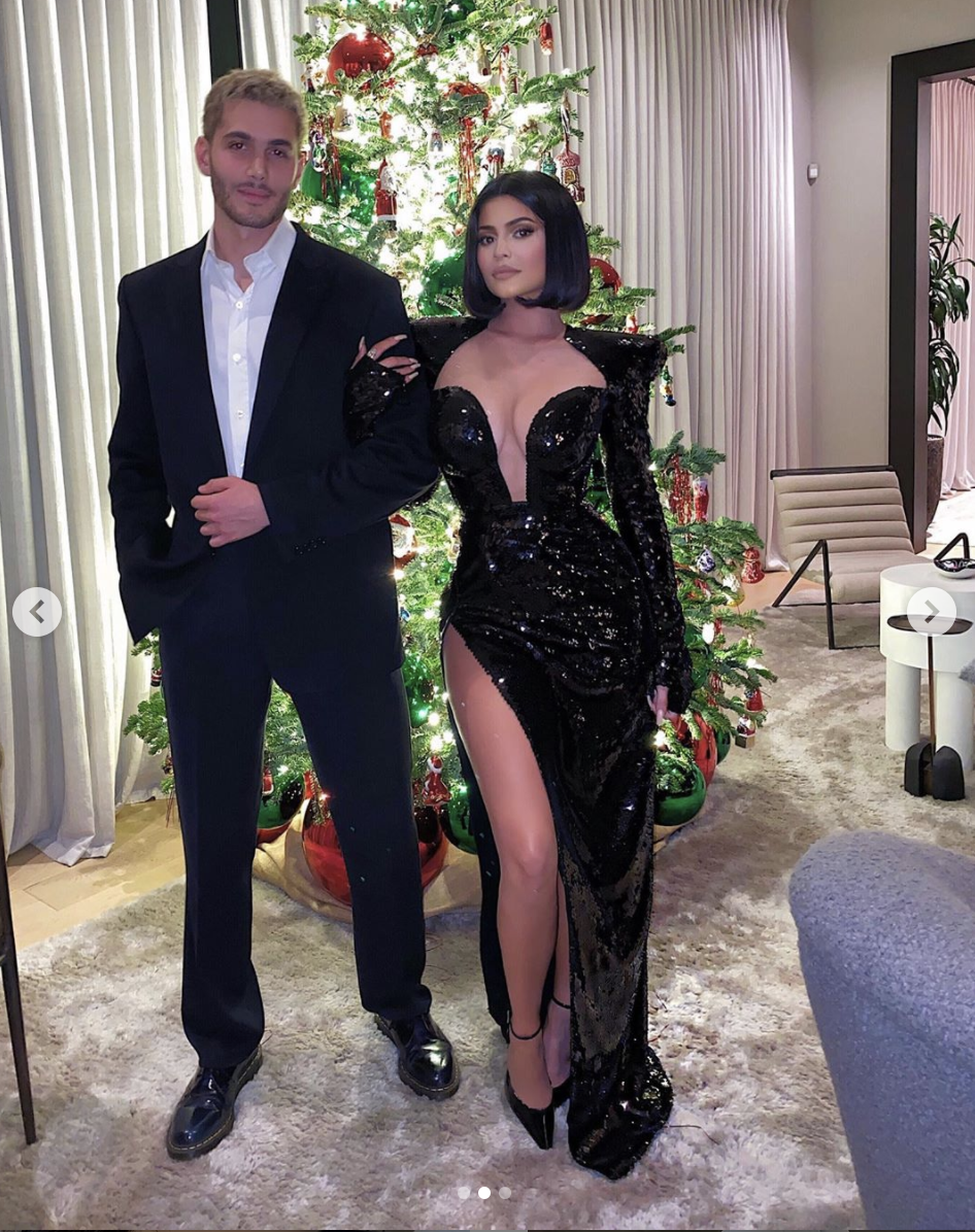 """<p>Fai cemented his status as go-to member of the KarJenner circle by spending time with Kylie. Last Christmas, they posed for a chic photo at Diddy's Christmas party and more recently have been <a href=""""https://www.elle.com/culture/celebrities/a32823604/kylie-jenner-breaking-social-distance-club-party-twitter-reaction/"""" rel=""""nofollow noopener"""" target=""""_blank"""" data-ylk=""""slk:breaking social distancing rules"""" class=""""link rapid-noclick-resp"""">breaking social distancing rules</a> to hang out together. Fai still remains one of <a href=""""https://www.elle.com/culture/celebrities/a29459012/who-is-fai-khadra-kendall-jenner-dating-friend/"""" rel=""""nofollow noopener"""" target=""""_blank"""" data-ylk=""""slk:the lesser known members"""" class=""""link rapid-noclick-resp"""">the lesser known members</a> of the famous family's orbit, although that could change in 2020.</p>"""