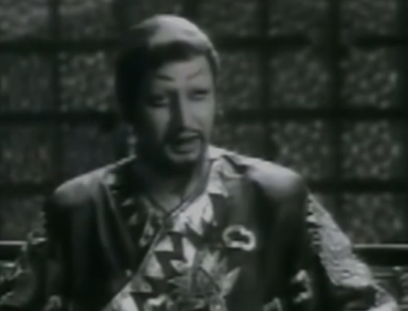 The actor played the titular role of the Mongol ruler in this film also starring Meena Kumari and Ajit.