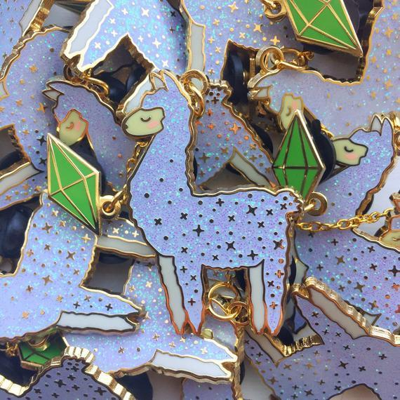 "<h2>The Sims Llama Enamel Pin</h2><br>It's impossible to look at these sparkly Sims llama pins and not go ""aww.""<br><br><strong>jenaiss</strong> The Sims Llama Enamel Pin, $, available at <a href=""https://go.skimresources.com/?id=30283X879131&url=https%3A%2F%2Fwww.etsy.com%2Flisting%2F805640787%2Fthe-sims-little-llama-hard-enamel-pin"" rel=""nofollow noopener"" target=""_blank"" data-ylk=""slk:Etsy"" class=""link rapid-noclick-resp"">Etsy</a>"