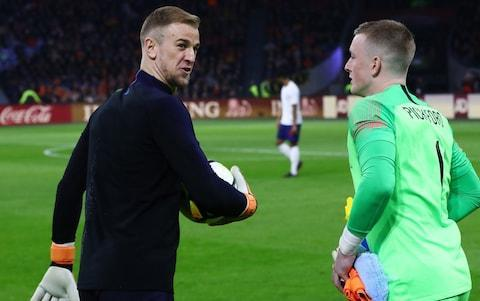 "Gareth Southgate insisted on Thursday that it is ""not the end"" for Joe Hart with England but that the form of other goalkeepers left no place for him in the World Cup squad. Hart was the odd man out on Wednesday as Jordan Pickford, Jack Butland and Nick Pope earned selection for this summer's trip to Russia. And Southgate said on Thursday: ""Of course it was a difficult call. He played in most of our qualifying matches, he's been a big part of the England team the last few years and he's a valued member of the squad. ""But in the end I've got to look at performances over the last 18 months with their clubs and the three lads we picked were the three best goalkeepers in the league this year."" Asked about Hart's future prospects, he added: ""I pick players on form and if he's playing well for his club, why wouldn't we select him? Joe Hart (L) has been replaced by the likes of Jordan Pickford (R) Credit: Getty Images ""There's no reason for this to be the end. He has an important career decision this summer and I hope he can be back at his very best."" Butland, Pickford and the uncapped Pope have won just nine caps between them but Southgate has no concerns. ""They are the best three English goalkeepers we have in the league,"" said Southgate. ""We are not picking young players because they are young and we are trying to buy ourselves time. ""We believe they are the best in their positions for the way we want to play. With the goalkeepers they have been the best three. ""OK, maybe it's brave to take players without a number of caps, but we have to give these guys belief. ""We're picking them not because they're young, but because they are the best in their positions. We know they're not the finished article. Southgate (R) is a huge fan of Adam Lallana (L) Credit: AFP ""That's where we are at the moment. As a country we pick from 33 per cent of the (Premier League). It is quite a unique situation."" Southgate also suggested that Adam Lallana could yet make the squad after being initially named on the stand-by list. ""I've had continual dialogue with Adam throughout the season, close and personal conversations,"" Southgate said. ""It has been a frustrating season for him. Under normal circumstances he wouldn't be anywhere near the squad but he is a player we have a lot of time for."" ""Maybe if we give him 10 days and who knows what happens. ""He might have a big impact in the Champions League final and we have an issue (an injury). The reality of the conversations have had with him is that to find performances on the back of the limited minutes will be really difficult."" 11:31AM That's your lot Typically level-headed, Gareth is done. The main takeaways are that: Lallana could yet make the squad The door is still open for Hart long-term Wilshere and Hart's omission from stand-by list was Southgate's decision Credit: Getty Images 11:27AM Magic moments Why did Klopp rather than Southgate tell TAA he had made the squad? ""It is nice for them to be able to tell their players. When you can deliver news like that I think it is a special moment."" He adds that he said to Klopp: ""You can deliver the good news, I'll deliver the bad, horrible phone calls."" 11:24AM Bromance Are you worried about club cliques? ""It didn't happen in 96 when we got to a semi-final. It certainly wasn't an issue. I started to see it a little bit towards the end of my time with England. I don't see it with this group. Most of these lads have grown up together in the youth teams."" He then adds: ""You rarely see Jesse [Lingard] and Marcus [Rashford] when they are not holding hands or doing something!"" 11:21AM Demons Did you deliberately take players with no previous experience of tournament failure? ""I don't think it was essential but it can be of benefit."" 11:20AM Hurdles to overcome Sessegnon? ""We know all of the young players, Sancho, Foden as well. Super young players coming through but the hurdles to overcome to be in that position - people like Trent and Ruben have fulfilled many of those steps. The other guys - I don't think we'd be helping their own development."" 11:18AM Learning lessons Tempted to recall James Milner, who is retired from international football? ""I remember one previous England manager got players who had retired from international football to play. I don't think that was roundly received as being a good idea"". Southgate appears to be referring here to Fabio Capello and the 2010 World Cup. Southgate adds: ""I'm a big fan of James and tried to sign him previously."" 11:14AM Jon-no Why no Shelvey? ""We know all of the English players in the league, their strengths and their weaknesses. We assess someone on the way we want to play, in terms of temperament, Gerrard, Vieira, Keane have more red cards than anyone, it wouldn't be a primary factor."" 11:12AM Special case - Southgate's a big fan On dropping Lallana: ""I've had continual dialogue with Adam throughout the season, close and personal conversations, It has been a frustrating season for him. Under normal circumstances he wouldn't be anywhere near the squad but he is a player we have a lot of time for."" 11:12AM TAA On Alexander-Arnold:""He is the next-best English full-back in the league. It looks like he will be playing in the Champions League final and he was involved in our junior teams, he is a player I know."" 11:10AM Rolling the dice Is it a risk picking three such inexperienced goalkeepers? ""They're the best three English goalkeepers we have. We're not picking young and inexperienced players to buy ourselves some time. We're picking them because we believe they're the best three players in their position."" 11:08AM First reserves Did Hart and Wilshere decide themselves not to be on stand-by list? ""No, it was my decision. Once you make a call, particularly with senior players, then you have to look at the standby list as a separate entity."" 11:07AM J-axed On Wilshere: ""Jack had a good spell in the lead up to Christmas and just after. He was not as effective towards the end of the season."" 11:06AM Consummate pro ""Hart took the news very professionally. Of course very disappointed, as was Ryan Bertrand, who has also been involved in the qualifiers. ""Hopefully I'll get the chance to talk to them in more detail about it at a later date. I know as a player it's good to talk it through in a few months time. ""Joe could definitely play for England in the future. I've picked players on form."" 11:04AM Hart-breaker Why he dropped Joe Hart: A very big decision. He's been a big part of the team and the squad but I have to look at performances over last 18 months. The three goalkeepers I've picked have been the three best goalkeepers in the Premier League this season. 11:02AM We're under way Southgate has begun...(there's a video stream above so you can see it in all its glory). 10:52AM Paul Hayward's take Our chief sports writer was upbeat about Southgate's squad, and wrote in today's paper that: Those of us who have given up on England several times – most recently in 2010 and 2016 – are struck by a strange rekindling of interest. Gareth Southgate's bold squad selection is unlikely to bring the World Cup here from Russia but at least there is a sense of renewal. England squad: A bold selection with a clear sense of direction 10:40AM Play Gareth Who would you pick for England's opener against Tunisia? You can have a go below, which currently includes my team for what it's worth: England Formation Builder 10:26AM Preamble Morning all, Gareth Southgate will be up in about half an hour. In the meantime, have a read of the below which breaks down just how young, inexperienced (and exciting?) this England squad is. England will go into this summer's World Cup with one of their youngest ever major tournament squads - and with an eye-catching lack of experience in goal. Gareth Southgate's 23-man group was announced on Wednesday, with an average age of 26 years and 18 days making it the third-youngest squad to represent England at a World Cup. The situation is particularly noticeable when it comes to England's last line of defence, where Joe Hart's omission leaves 25-year-old Jack Butland, Jordan Pickford, 24, and uncapped 26-year-old Nick Pope who have made only nine international appearances between them. There are warm-up games against Nigeria and Costa Rica for the trio to add to that tally, but their current total does not even match the average caps among England's trio of keepers at any other tournament this century. England squad 