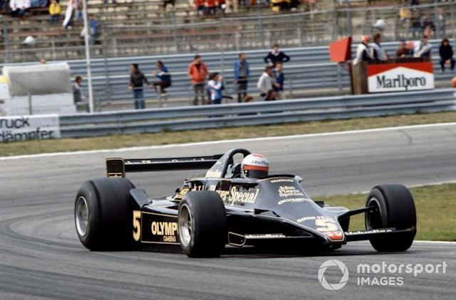 """1978: Mario Andretti, Lotus 79 Ford <span class=""""copyright"""">LAT Images</span>"""