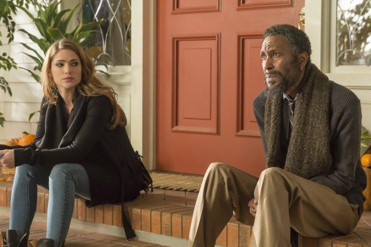 Janet Montgomery as Olivia and Ron Cephas Jones as William (Credit: Ron Batzdorff/NBC)