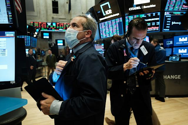 Stock Market News Live Updates Stocks Pull Back From Record Levels As Tech Shares Lead Declines