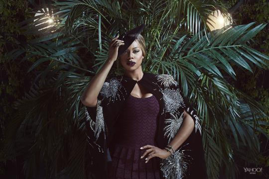 "<p>Even before the media made all things transgender their subject of the year, Cox was speaking up. ""That's partly why I act, to tell other people's stories,"" she says. ""I don't have to be PC when I act; I just have to be a human being.<span>""</span><br><br>Alaïa Long Wool Knit Dress, $8,010; <a href=""http://www.alaia.fr/en/home.html"" rel=""nofollow noopener"" target=""_blank"" data-ylk=""slk:alaia.fr"" class=""link rapid-noclick-resp"">alaia.fr</a><br><br>Saint Laurent Cape, $2,470, Available At Barneys New York 212 826 8900<br><br>David Yurman Reverse-Set Hoop Earrings with Black Diamonds in 18k White Gold, $23,000, <a href=""http://www.davidyurman.com/"" rel=""nofollow noopener"" target=""_blank"" data-ylk=""slk:davidyurman.com"" class=""link rapid-noclick-resp"">davidyurman.com</a><br><br>David Yurman Reverse-Set Ring with Black Diamonds in 18k White Gold, $14,500,<a href=""http://www.davidyurman.com/"" rel=""nofollow noopener"" target=""_blank"" data-ylk=""slk:davidyurman.com"" class=""link rapid-noclick-resp""> davidyurman.com</a><br><br>Alexis Bittar Blue Sapphire Pave Double Band Cuff, $2,295, <a href=""https://www.alexisbittar.com/"" rel=""nofollow noopener"" target=""_blank"" data-ylk=""slk:alexisbittar.com"" class=""link rapid-noclick-resp"">alexisbittar.com</a><br><br>Patricia Underwood Mindy Evening Hat, $1,100, <a href=""http://www.patriciaunderwood.com/"" rel=""nofollow noopener"" target=""_blank"" data-ylk=""slk:patriciaunderwood.com"" class=""link rapid-noclick-resp"">patriciaunderwood.com </a><br><br><i>Photography by Finlay Mackay for Yahoo Style</i></p>"