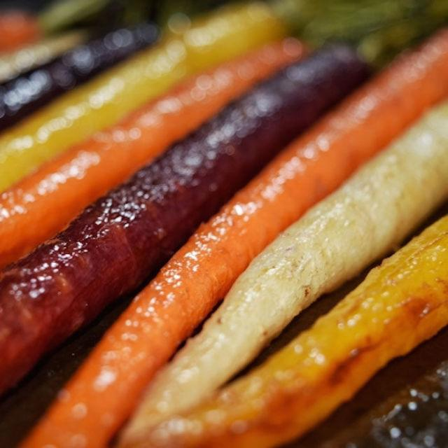 """<p>Once you taste how delicious these carrots are, you won't be making them just for the Insta pic. </p><p><strong>Get the recipe at <a rel=""""nofollow"""" href=""""http://www.personallypaleo.com/entries/maple-ginger-glazed-carrots"""">Personally Paleo</a>. </strong></p>"""