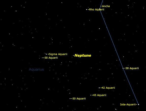 Neptune Shines Best in Telescopes Now: See It Online Tonight