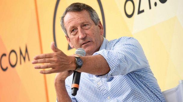 PHOTO: In this July 21, 2018, file photo, Republican politician Mark Sanford speaks at OZY Fest in Central Park in New York. (Evan Agostini/Invision/AP, FILE)