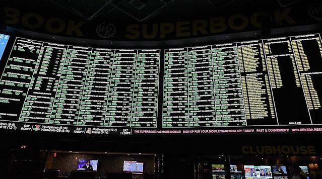 In a historic move on Monday, the Supreme Court overturned a federal ban on sports gambling, and we spoke to some U.K.-based bookmakers and gamblers to figure out what an NFL Sunday might look like with legalized betting in the picture.