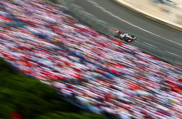 Jenson Button of Great Britain and McLaren drives during the Monaco Formula One Grand Prix at the Circuit de Monaco on May 27, 2012 in Monte Carlo, Monaco. (Photo by Paul Gilham/Getty Images)