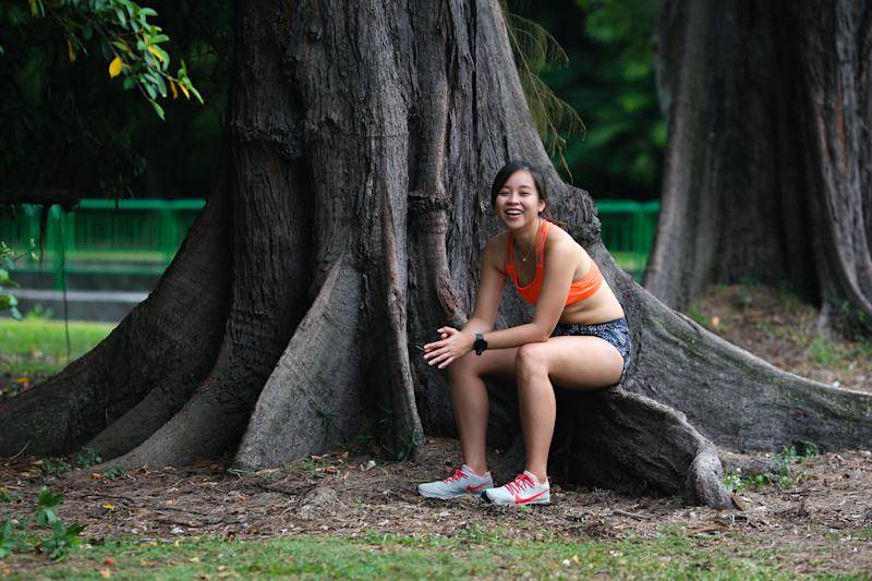 Singapore #Fitspo of the Week: Mandy Chan (PHOTO: Cheryl Tay)