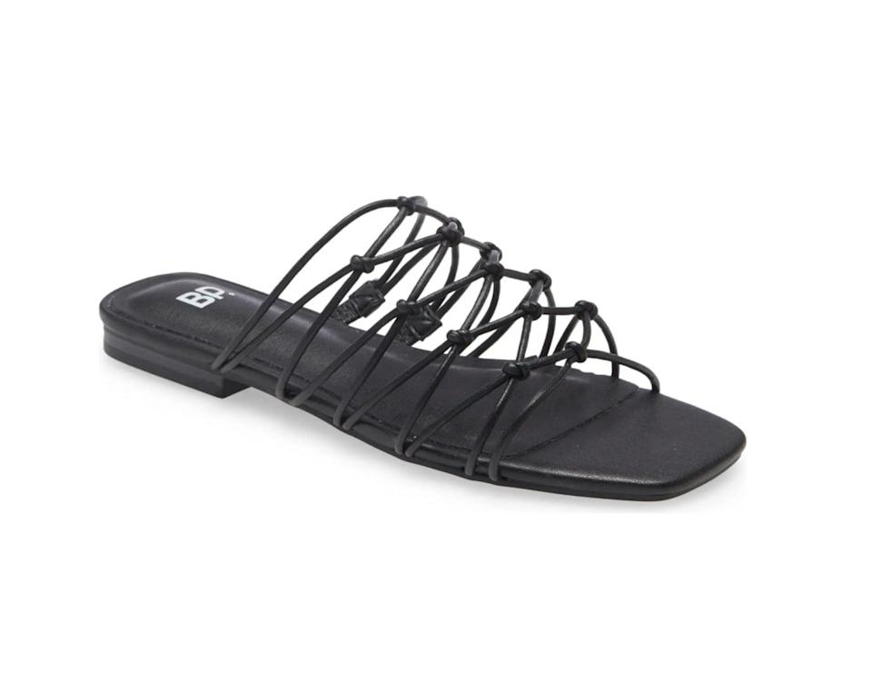<p>These textured <span>BP. Piper Strappy Sandals</span> ($16, originally $40) will add ease and effortless style to any look.</p>