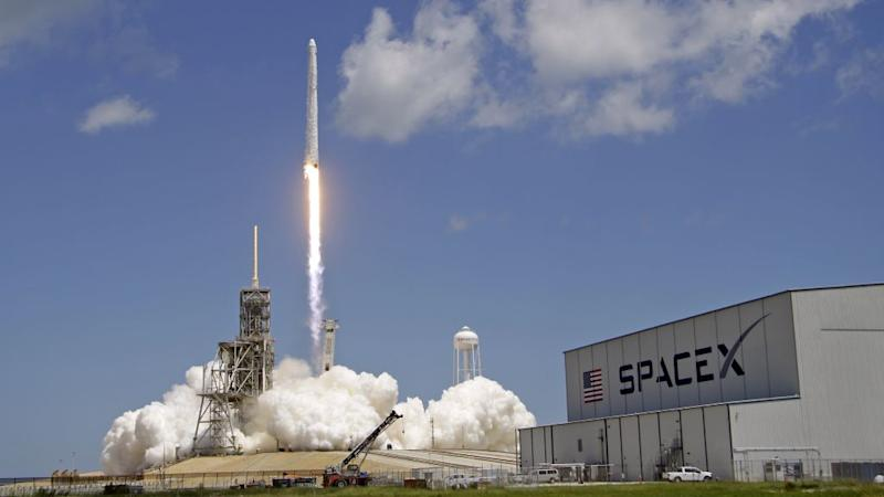 between 2 51pm and 3 33 pm us eastern time today spacex will launch and then hopefully recover its twelfth rocket of the year elon musk s company will