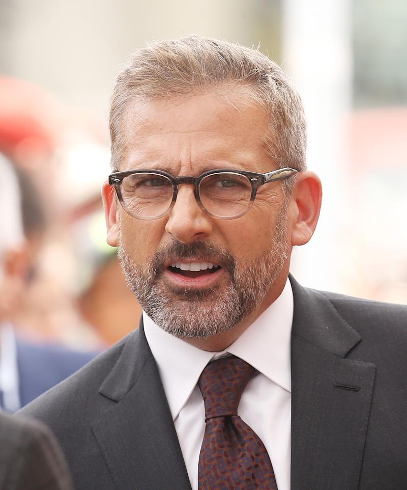 HOLLYWOOD, CALIFORNIA - JUNE 07: Steve Carell attends the ceremony honoring Alan Arkin with a Star on The Hollywood Walk of Fame held on June 07, 2019 in Hollywood, California. (Photo by Michael Tran/FilmMagic)