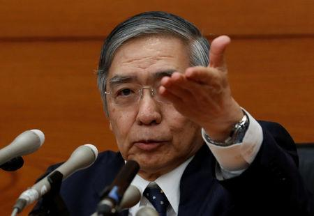 Bank of Japan Governor Haruhiko Kuroda attends a news conference in Tokyo