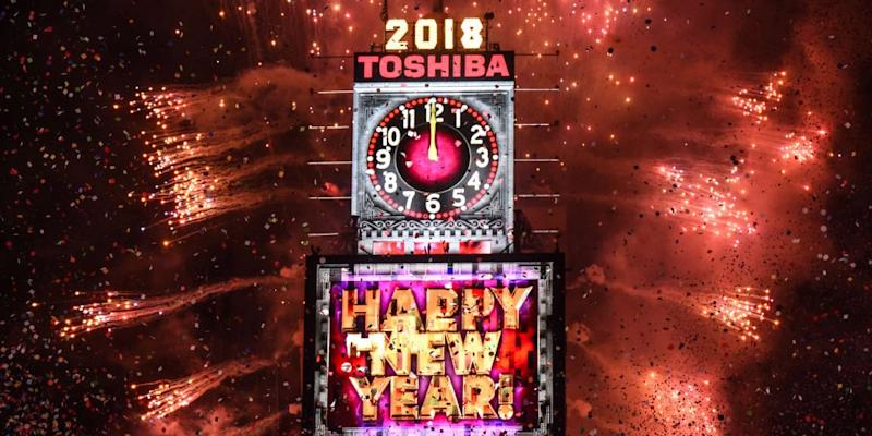 Times Square New Years 2018