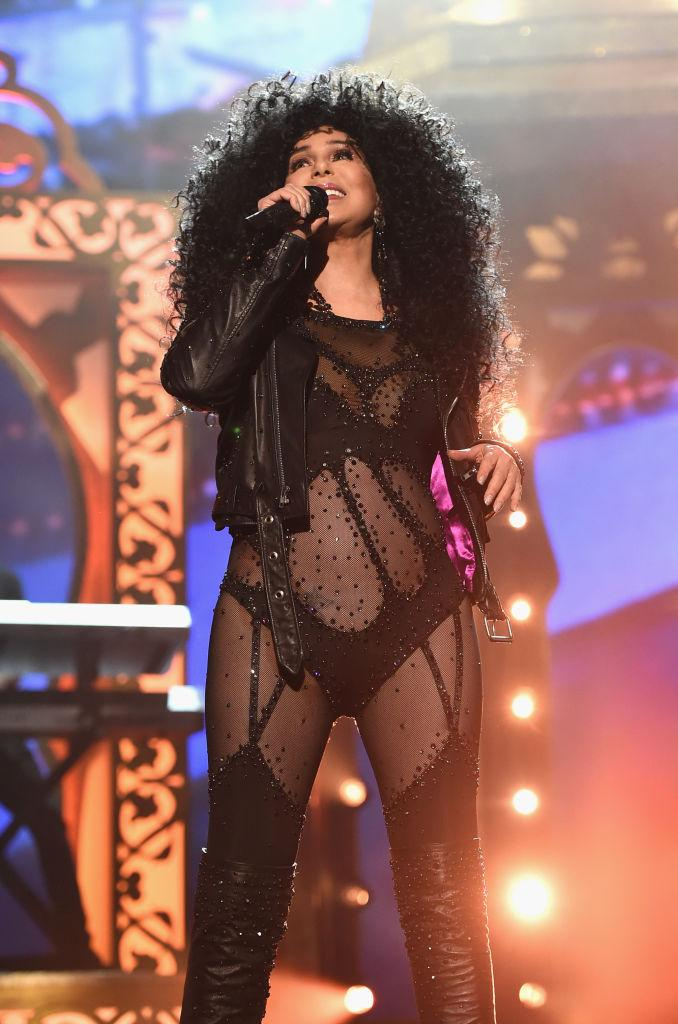 Cher performs at the Billboard Music Awards.