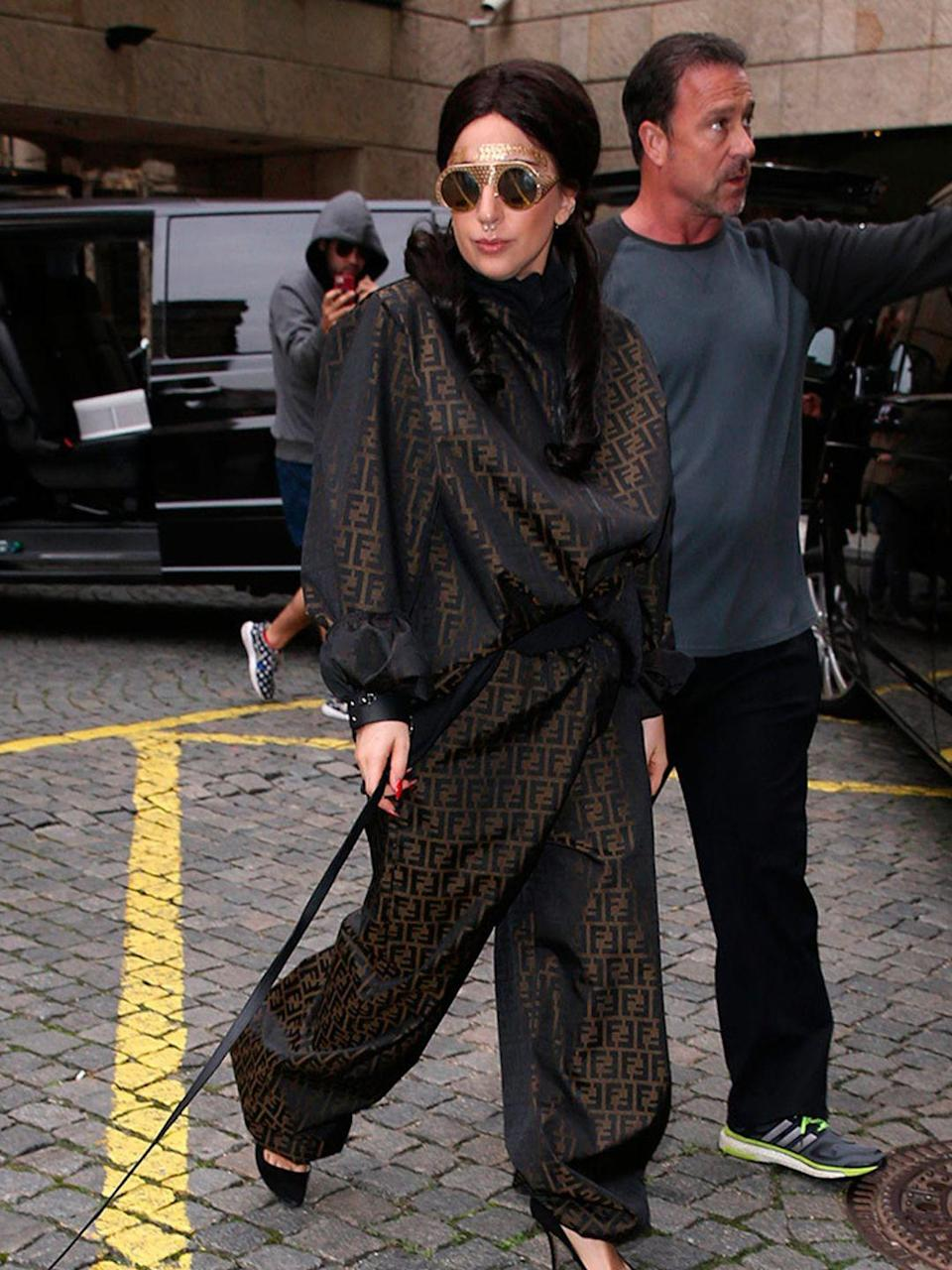 <p>Lady Gaga out and about in Prague, October 2014.</p>