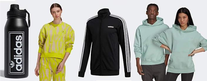 student and young people in adidas cklothes