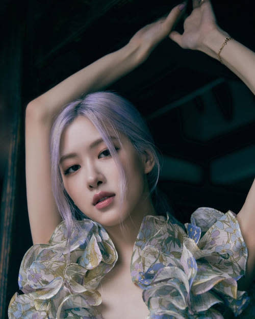 Rosé previously broke records with her solo debut, 'On the Ground'