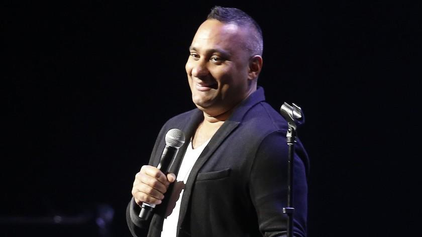 Russell Peters performs in front of a sold-out crowd.