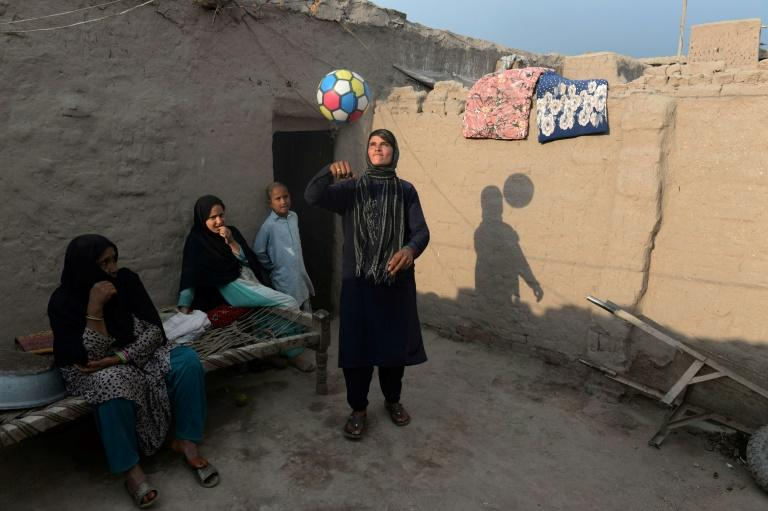 """Sitara lives by the custom known as """"bacha poshi"""", which enables her to perform the traditional duties of an Afghan son"""