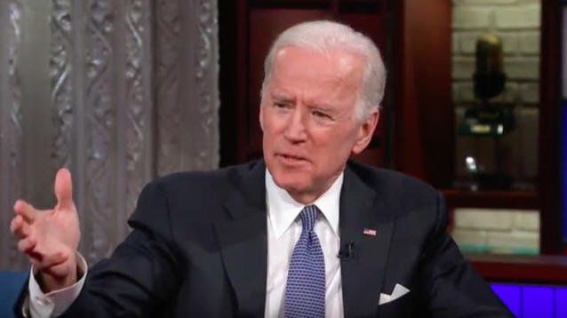 "Former Vice President Joe Biden appeared on Stephen Colbert's ""The Late Show"" Monday night and discussed how President Donald Trump's time in office might influence future U.S. leaders."
