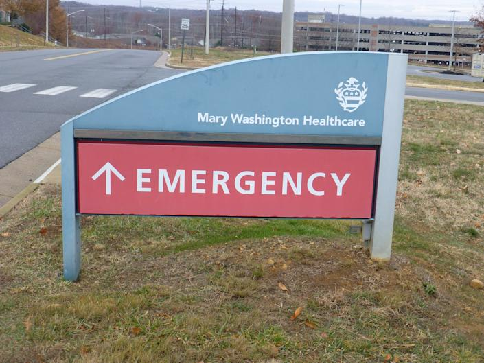 Mary Washington Hospital in Fredericksburg ranked as the ninth best hospital in Virginia. (Mark Hand/Patch)