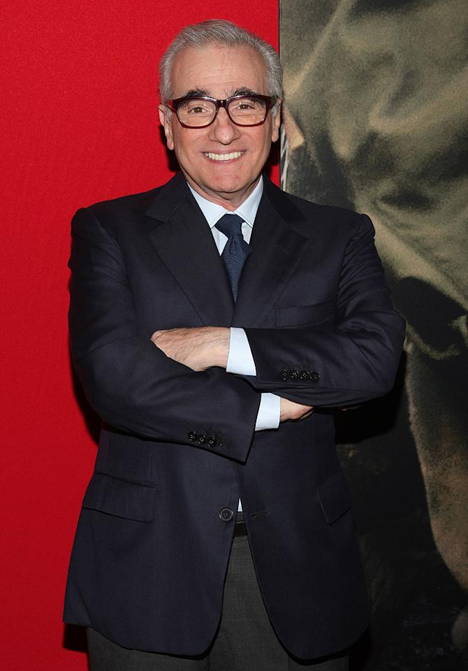"""<a href=""""http://movies.yahoo.com/movie/contributor/1800014966"""">Martin Scorsese</a> at the New York City premiere of <a href=""""http://movies.yahoo.com/movie/1809947151/info"""">Miracle at St. Anna</a> - 09/22/2008"""