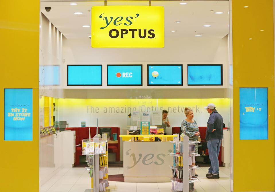 Optus is Australia's second largest telecommunications company. (<em>Photos: Getty)</em>