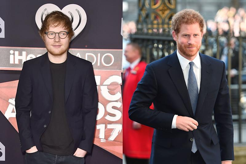 Prince Harry Is the Latest Person to Get Told He Looks Like Ed Sheeran